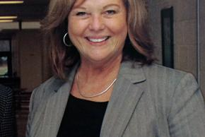 Color yearbook portrait of Principal Terri Czarniak taken 2007.